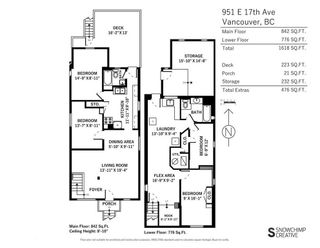 """Photo 20: 951 E 17TH Avenue in Vancouver: Fraser VE House for sale in """"CEDAR COTTAGE"""" (Vancouver East)  : MLS®# R2205343"""