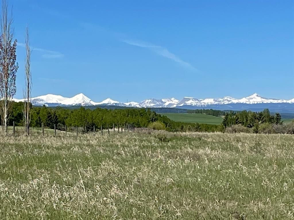 Main Photo: 176042 168 Avenue W: Rural Foothills County Residential Land for sale : MLS®# A1111014