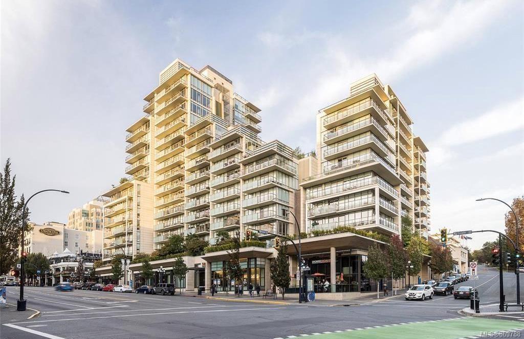 Main Photo: 1201 708 Burdett Ave in : Vi Downtown Condo for sale (Victoria)  : MLS®# 869788