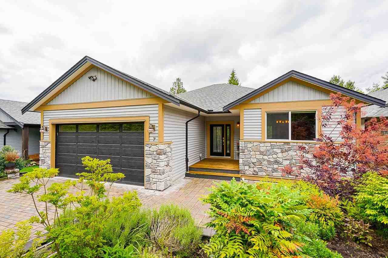 """Main Photo: 7 11540 GLACIER Drive in Mission: Stave Falls House for sale in """"Glacier Estates"""" : MLS®# R2591908"""