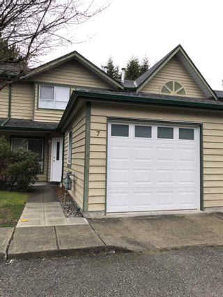 Photo 1: 7 1588 DUTHIE AVENUE in Burnaby: Simon Fraser Univer. Townhouse for sale (Burnaby North)  : MLS®# R2441839