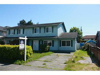 Photo 1: 3600 BLUNDELL Road in Richmond: Seafair 1/2 Duplex for sale : MLS®# V1121014
