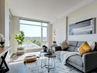 Photo 2: 801 1090 Johnson St in : Vi Downtown Condo for sale (Victoria)  : MLS®# 882239