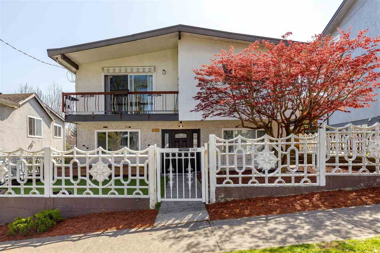 Main Photo: 3562 GLADSTONE Street in Vancouver: Grandview Woodland House for sale (Vancouver East)  : MLS®# R2588301