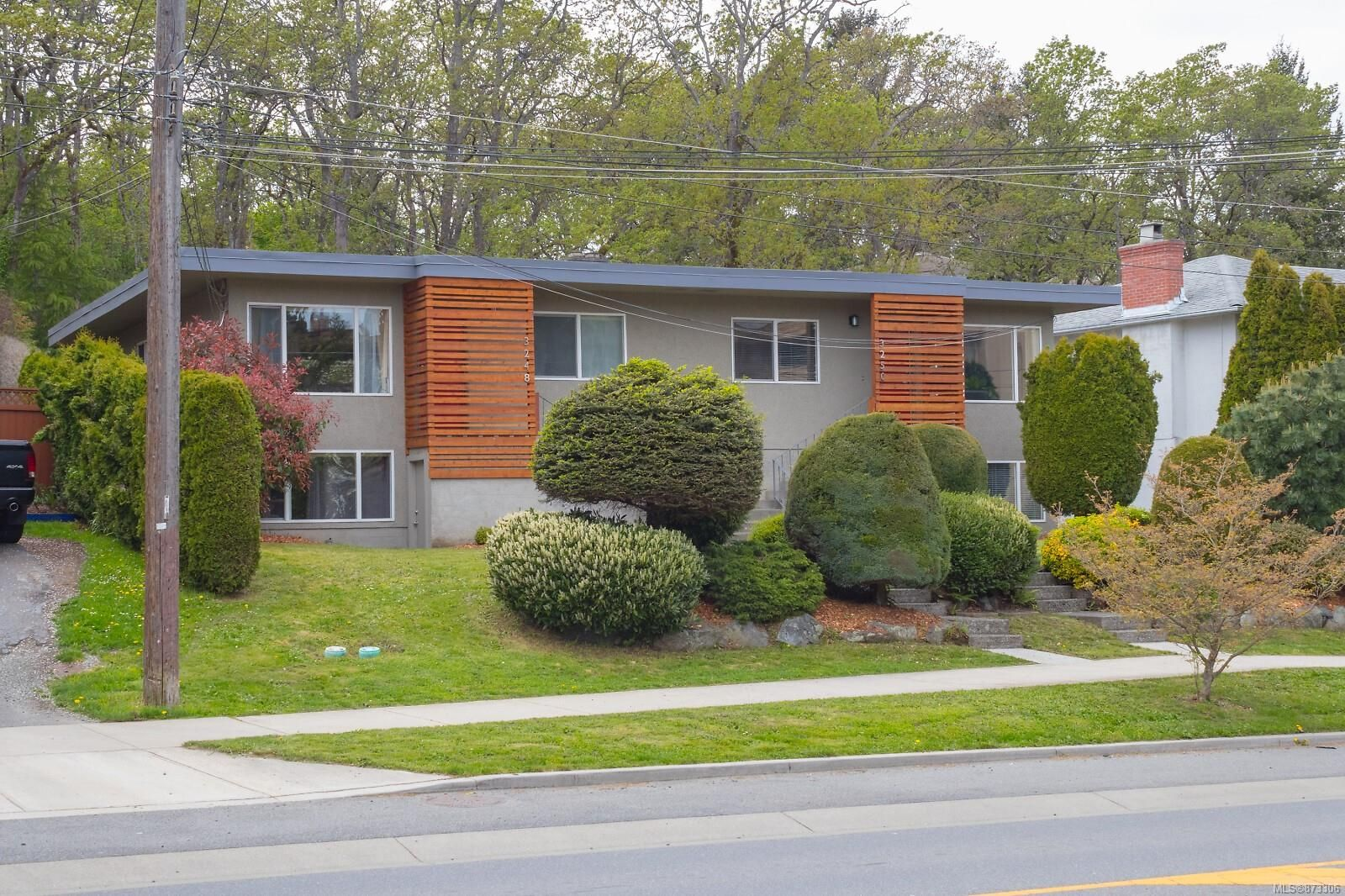 Main Photo: 3248/3250 Cook St in : SE Maplewood Full Duplex for sale (Saanich East)  : MLS®# 873306