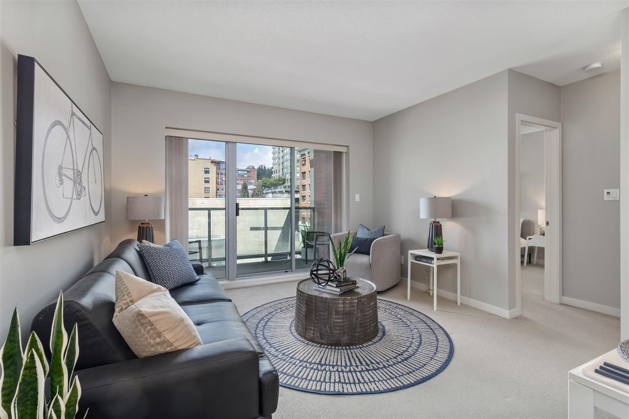Main Photo: 604 14 BEGBIE Street in New Westminster: Quay Condo for sale : MLS®# R2492650