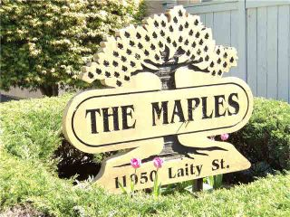 """Photo 20: 20 11950 LAITY Street in Maple Ridge: West Central Townhouse for sale in """"THE MAPLES"""" : MLS®# V1137328"""