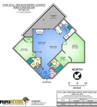 Photo 20: 114 2401 HAWTHORNE Avenue in Port Coquitlam: Central Pt Coquitlam Condo for sale : MLS®# R2252834