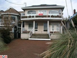 Photo 1: 14767 MARINE Drive in South Surrey White Rock: White Rock Home for sale ()  : MLS®# F1029026
