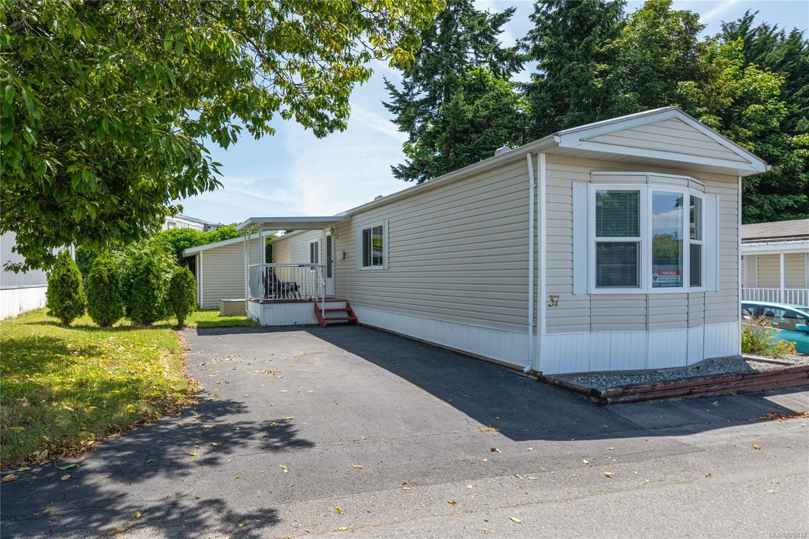 Main Photo: 37 80 Fifth St in : Na South Nanaimo Manufactured Home for sale (Nanaimo)  : MLS®# 879033