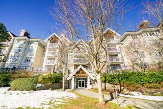 Photo 1: 102 1438 PARKWAY Boulevard in Coquitlam: Westwood Plateau Condo for sale : MLS®# R2342793