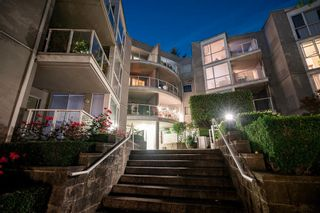 """Photo 1: 407 8420 JELLICOE Street in Vancouver: South Marine Condo for sale in """"THE BOARDWALK"""" (Vancouver East)  : MLS®# R2618056"""