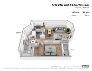 """Main Photo: 309 2057 W 3RD Avenue in Vancouver: Kitsilano Condo for sale in """"Sausalito"""" (Vancouver West)  : MLS®# R2449497"""