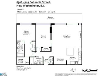 """Photo 26: 506 549 COLUMBIA Street in New Westminster: Downtown NW Condo for sale in """"C2C"""" : MLS®# R2620183"""