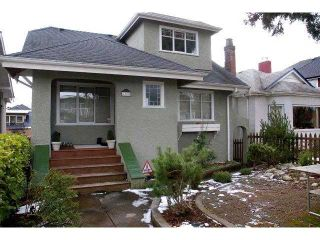 "Photo 1: 4168 W 15TH Avenue in Vancouver: Point Grey House for sale in ""POINT GREY"" (Vancouver West)  : MLS®# V873307"