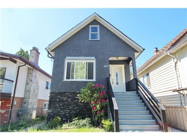 Main Photo: 956 E 54TH AVENUE in Vancouver: South Vancouver House for sale (Vancouver East)  : MLS®# R2013393