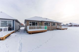 Photo 39: 8128 222 Street in Edmonton: Zone 58 House Half Duplex for sale : MLS®# E4228102