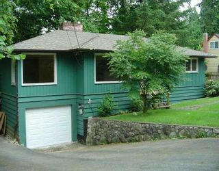 Photo 1: 110 CLEAR VIEW Drive in Port Moody: Port Moody Centre House for sale : MLS®# V597768