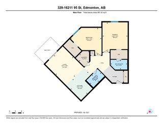 Photo 30: 329 16221 95 Street in Edmonton: Zone 28 Condo for sale : MLS®# E4257532