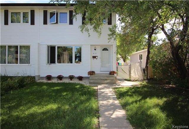 Main Photo: 417 Keenleyside Street in Winnipeg: East Elmwood Residential for sale (3B)  : MLS®# 1722335