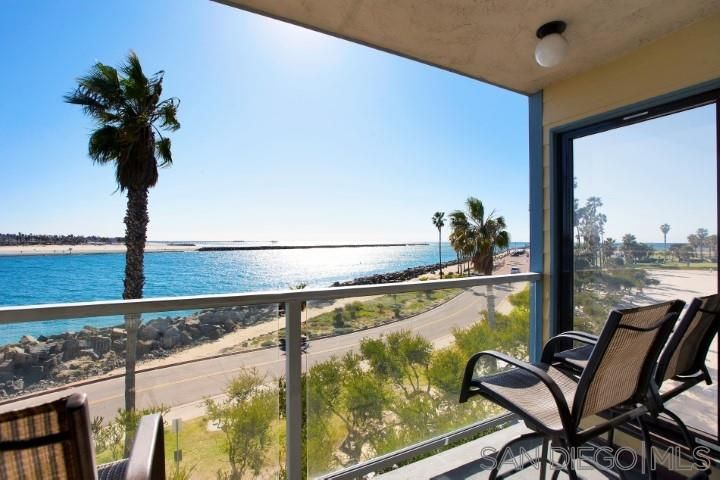 Main Photo: MISSION BEACH Condo for sale : 4 bedrooms : 2595 Ocean Front Walk #6 in Pacific Beach