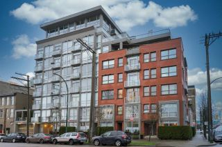 """Photo 1: 405 919 STATION Street in Vancouver: Strathcona Condo for sale in """"LEFT BANK"""" (Vancouver East)  : MLS®# R2606939"""