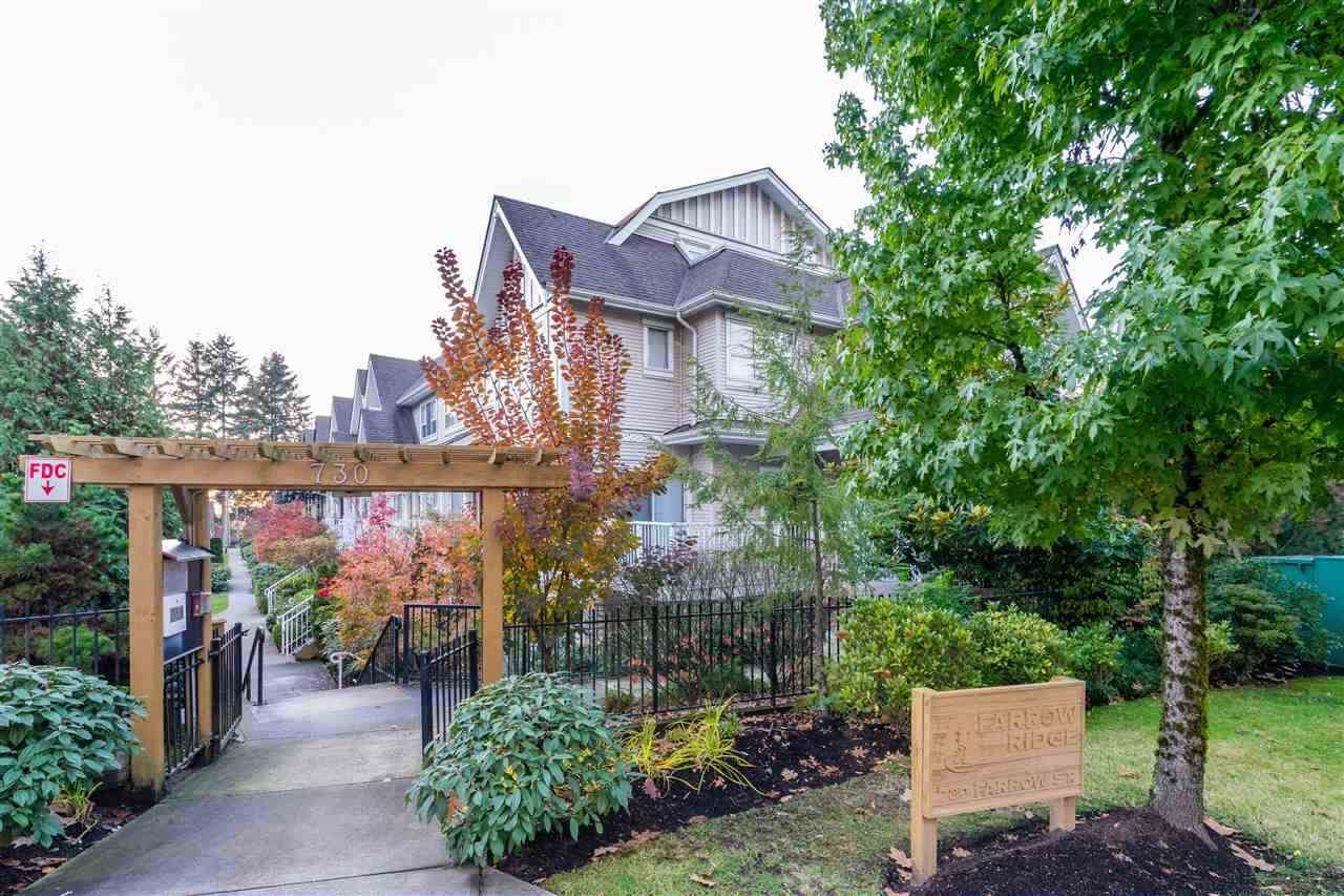 Main Photo: 54 730 FARROW STREET in : Coquitlam West Townhouse for sale : MLS®# R2227038