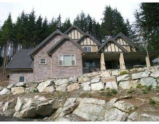 Photo 1: 1076 UPLANDS Drive: Anmore House for sale (Port Moody)  : MLS®# V700806