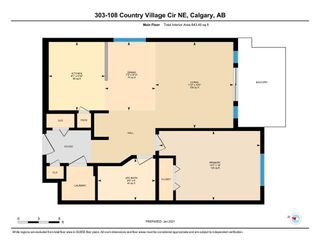 Photo 6: 303 108 COUNTRY VILLAGE Circle NE in Calgary: Country Hills Village Apartment for sale : MLS®# A1063002