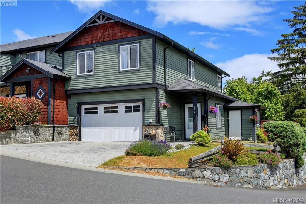 Main Photo: 102 6838 W Grant Rd in SOOKE: Sk Sooke Vill Core Row/Townhouse for sale (Sooke)  : MLS®# 818272