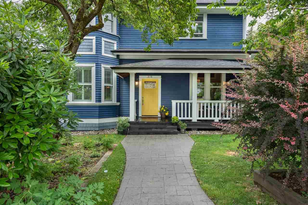 Main Photo: 218 FOURTH STREET in : Queens Park House for sale (New Westminster)  : MLS®# R2287008