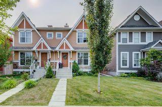Photo 1: 61 Auburn Springs Boulevard SE in Calgary: Auburn Bay Semi Detached for sale : MLS®# A1135621