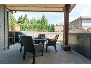 Photo 18: 1204 BURKEMONT PL in Coquitlam: Burke Mountain House for sale : MLS®# V1019665