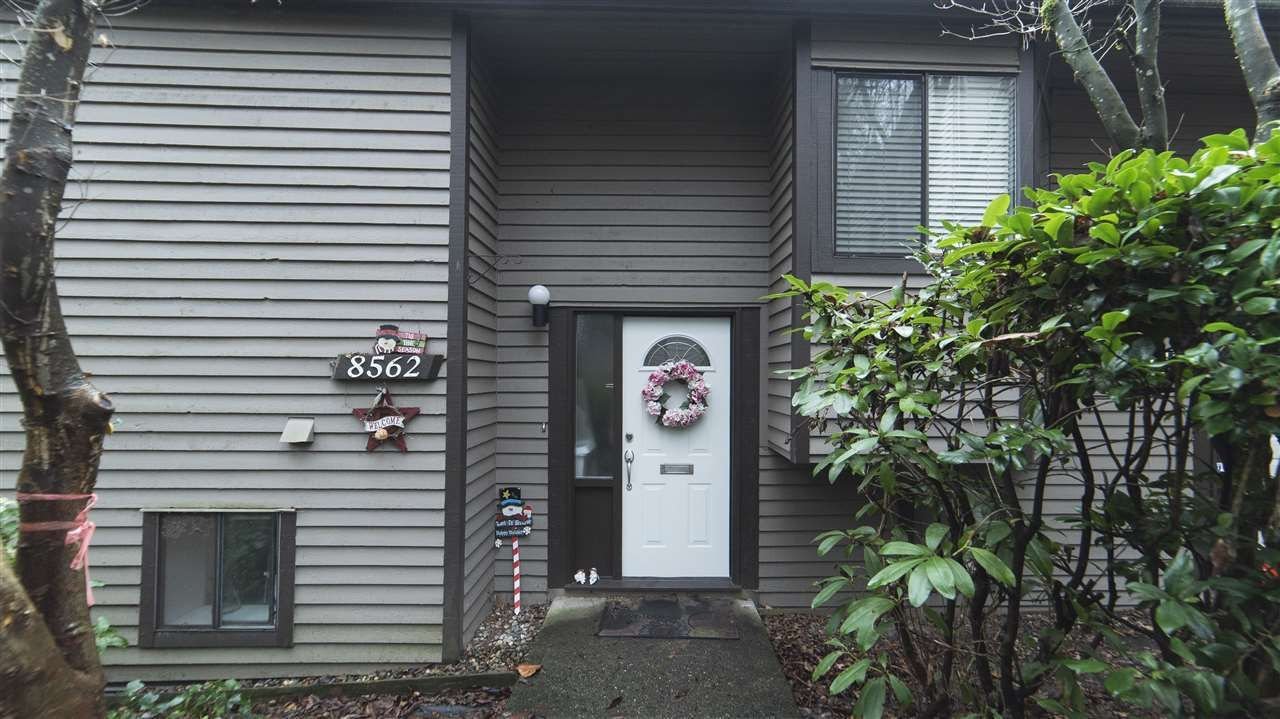 Photo 1: Photos: 8562 WILDERNESS Court in Burnaby: Forest Hills BN Townhouse for sale (Burnaby North)  : MLS®# R2328513