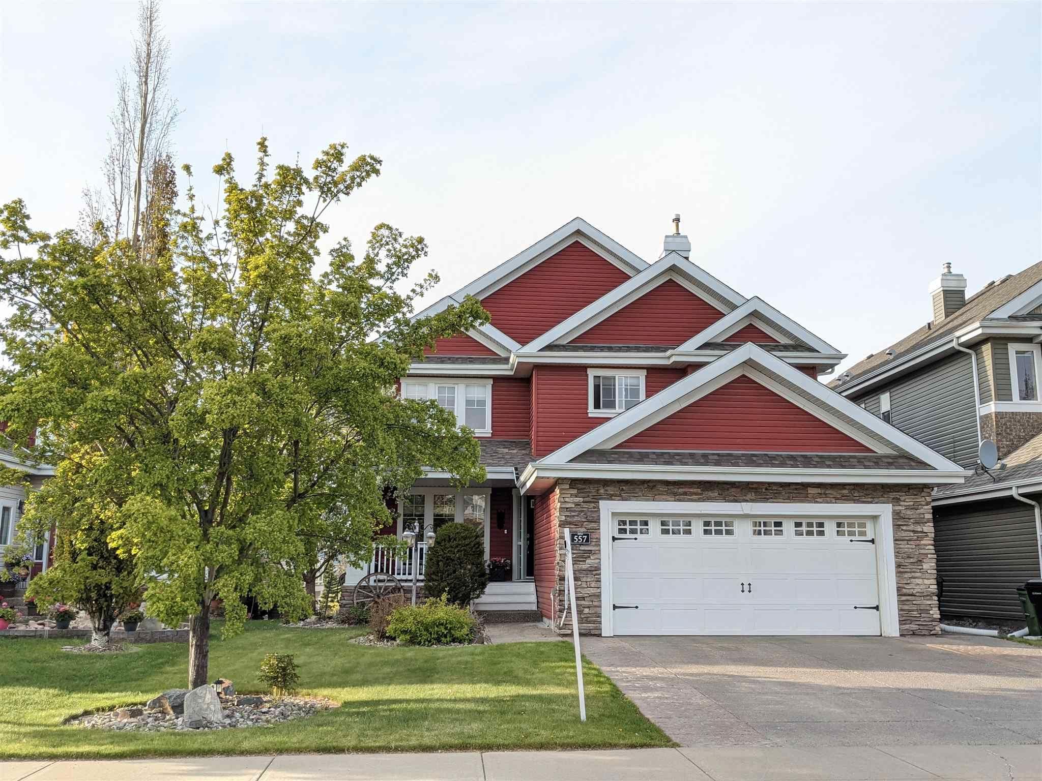 Main Photo: 557 STEWART Crescent in Edmonton: Zone 53 House for sale : MLS®# E4241896