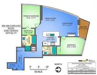 "Photo 40: 406 400 CAPILANO Road in Port Moody: Port Moody Centre Condo for sale in ""ARIA II"" : MLS®# R2604858"