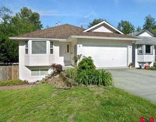 Photo 1: 11492 ROXBURGH RD in Surrey: Bolivar Heights House for sale (North Surrey)  : MLS®# F2509464