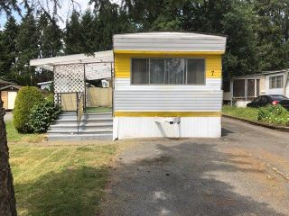 """Photo 1: 7 201 CAYER Street in Coquitlam: Maillardville Manufactured Home for sale in """"WILDWOOD PARK"""" : MLS®# R2283036"""