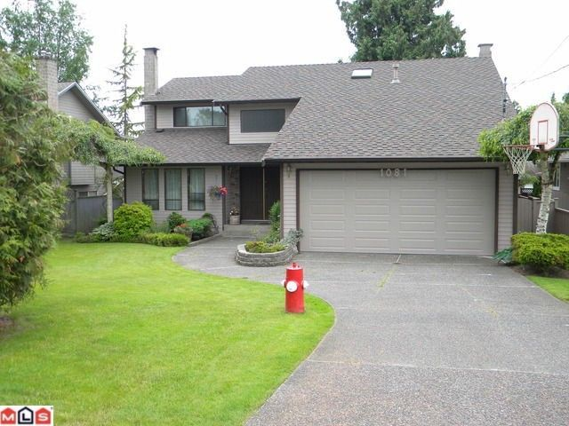 """Main Photo: 1081 164TH Street in Surrey: King George Corridor House for sale in """"South Meridian"""" (South Surrey White Rock)  : MLS®# F1115401"""