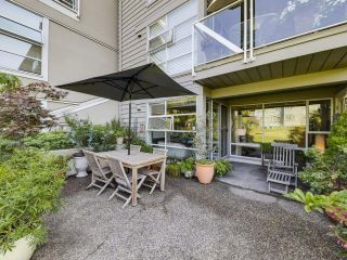 """Photo 6: 104 1990 E KENT AVENUE SOUTH in Vancouver: South Marine Condo for sale in """"Harbour House at Tugboat Landing"""" (Vancouver East)  : MLS®# R2607315"""