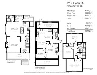 Photo 20: 2733 FRASER STREET in Vancouver: Mount Pleasant VE House for sale (Vancouver East)  : MLS®# R2413407