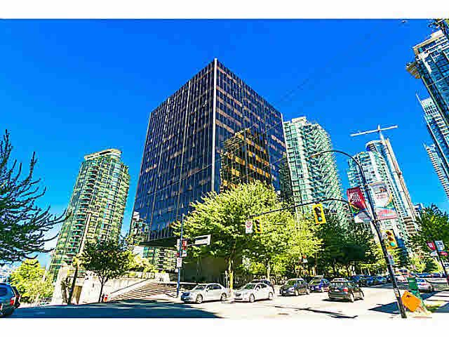 Main Photo: 413 1333 W GEORGIA STREET in : Coal Harbour Condo for sale (Vancouver West)  : MLS®# V1133476