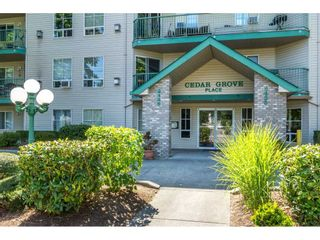 """Photo 1: 401 2435 CENTER Street in Abbotsford: Abbotsford West Condo for sale in """"Cedar Grove Place"""" : MLS®# R2231720"""