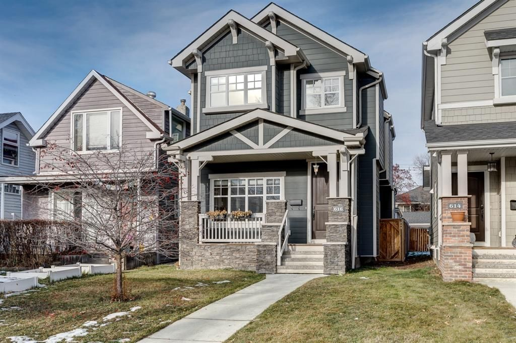 Main Photo: 616 21 Avenue NW in Calgary: Mount Pleasant Detached for sale : MLS®# A1121011