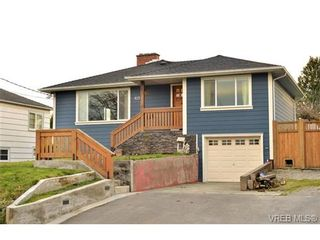 Photo 1: 821 Tulip Ave in VICTORIA: SW Marigold House for sale (Saanich West)  : MLS®# 721237