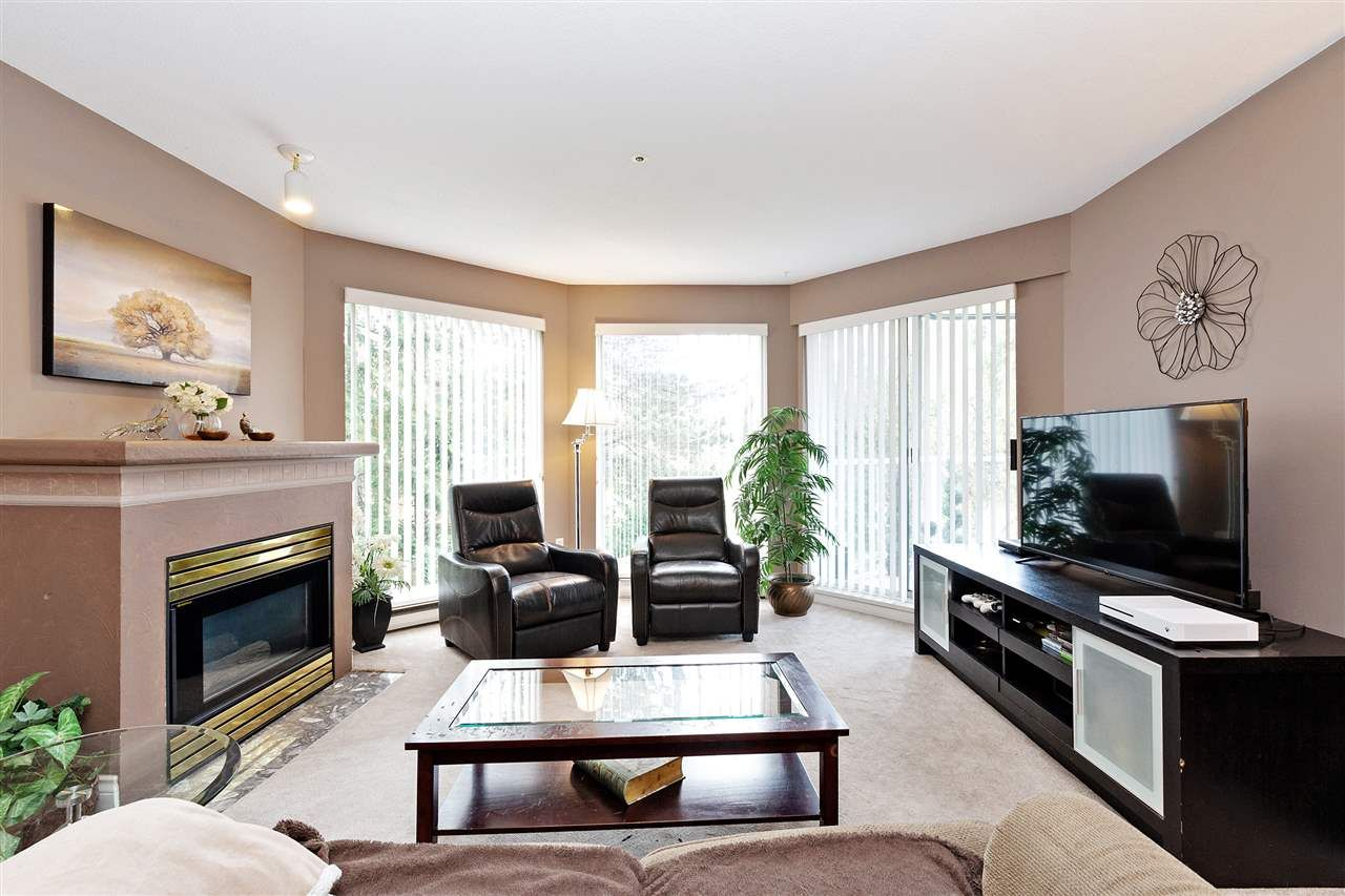 """Main Photo: 207 1219 JOHNSON Street in Coquitlam: Canyon Springs Condo for sale in """"MOUNTAINSIDE PLACE"""" : MLS®# R2617272"""