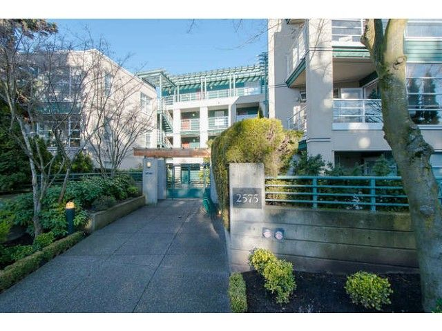 "Main Photo: 206 2575 W 4TH Avenue in Vancouver: Kitsilano Condo for sale in ""SEAGATE ON FOURTH"" (Vancouver West)  : MLS®# V1045521"