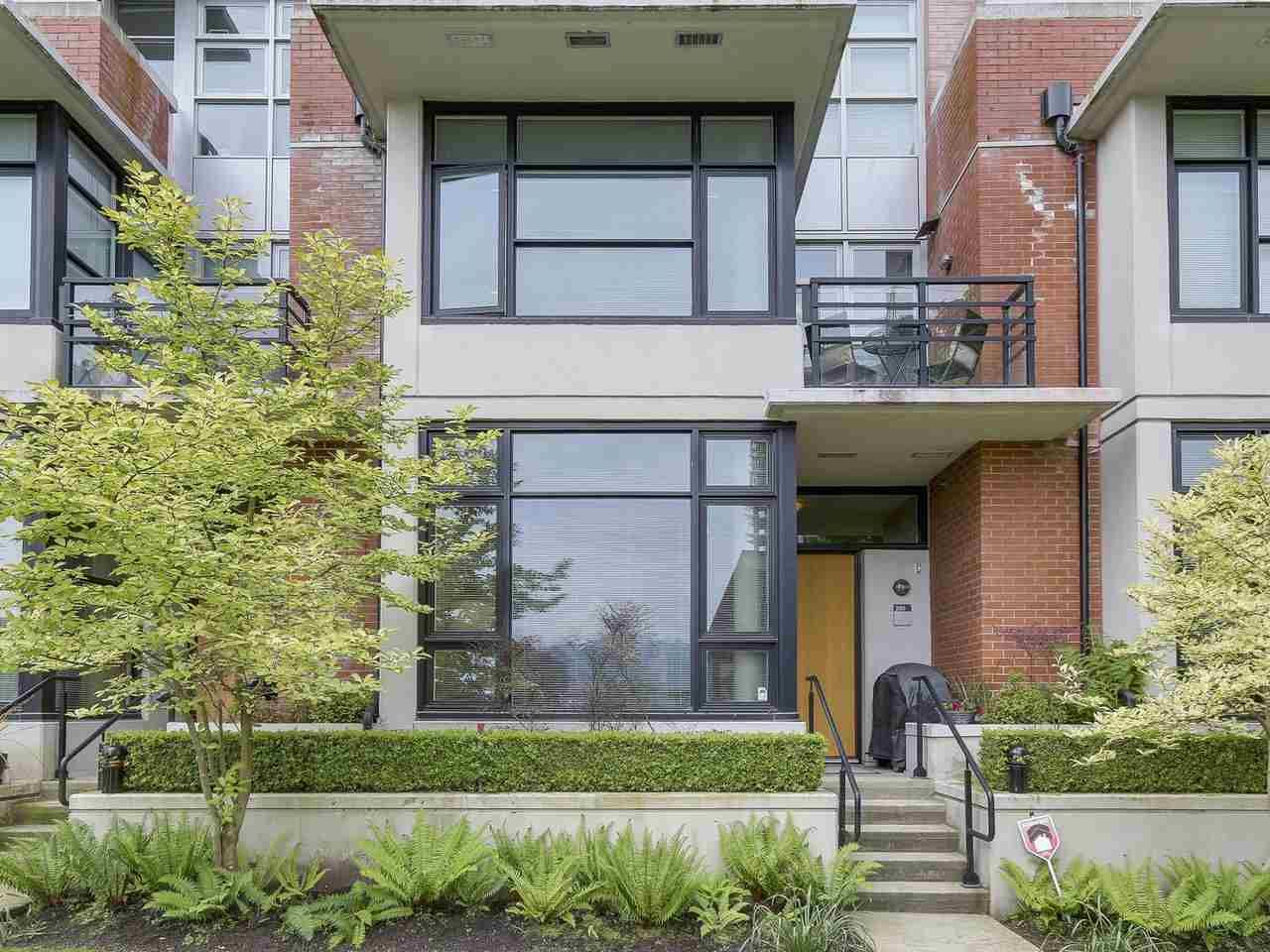 "Main Photo: 288 E 11TH Avenue in Vancouver: Mount Pleasant VE Townhouse for sale in ""THE SOPHIA"" (Vancouver East)  : MLS®# R2169007"