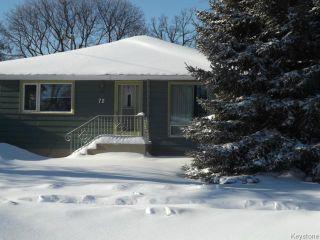 Photo 2: 72 Woodlands Crescent in WINNIPEG: Westwood / Crestview Residential for sale (West Winnipeg)  : MLS®# 1400162