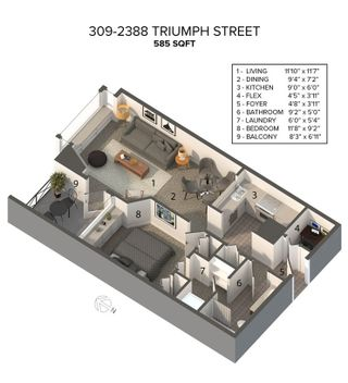 """Photo 25: 309 2388 TRIUMPH Street in Vancouver: Hastings Condo for sale in """"Royal Alexandra"""" (Vancouver East)  : MLS®# R2537216"""